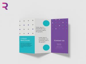 طباعة و تصميم بروشورات جاهزة